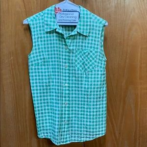 Used Marc by Marc Jacobs tank button down